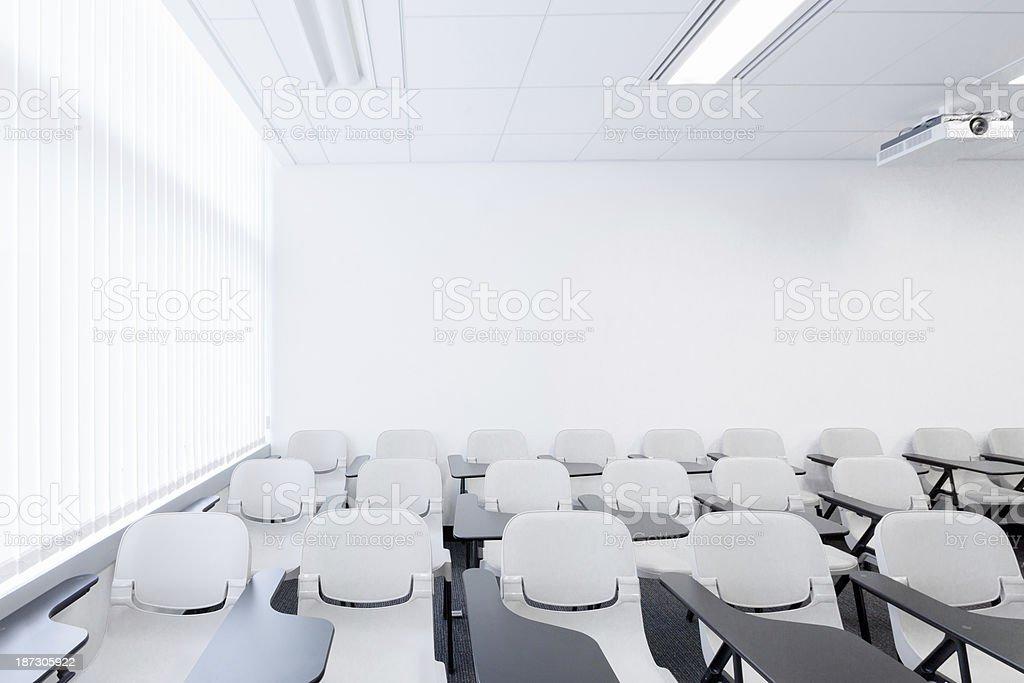 Modern University Classroom royalty-free stock photo