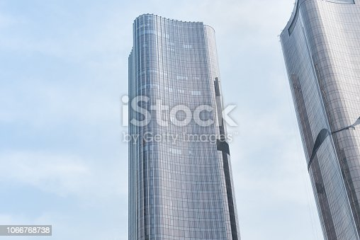 638467106istockphoto Modern urban architecture and sky 1066768738