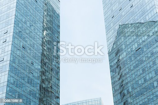638467106istockphoto Modern urban architecture in China 1066768818