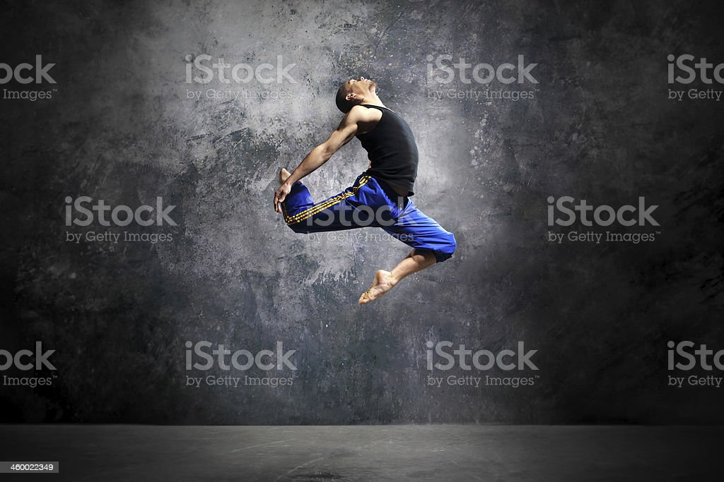 Modern urban dance stock photo
