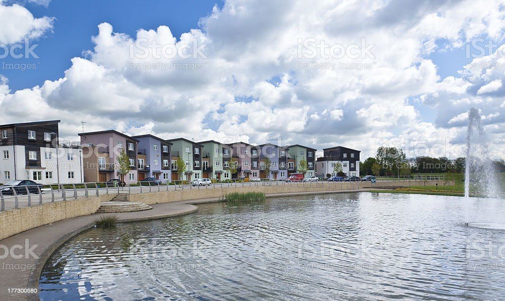Modern urban housing stock photo
