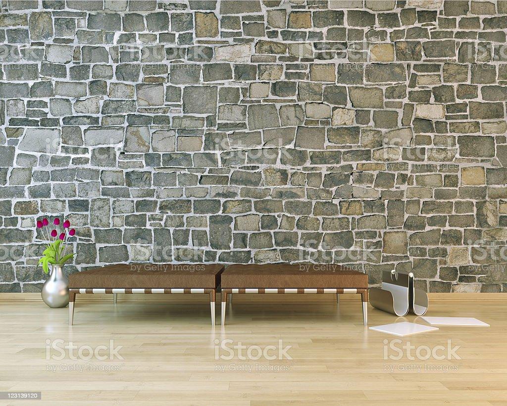 Modern urban interior royalty-free stock photo