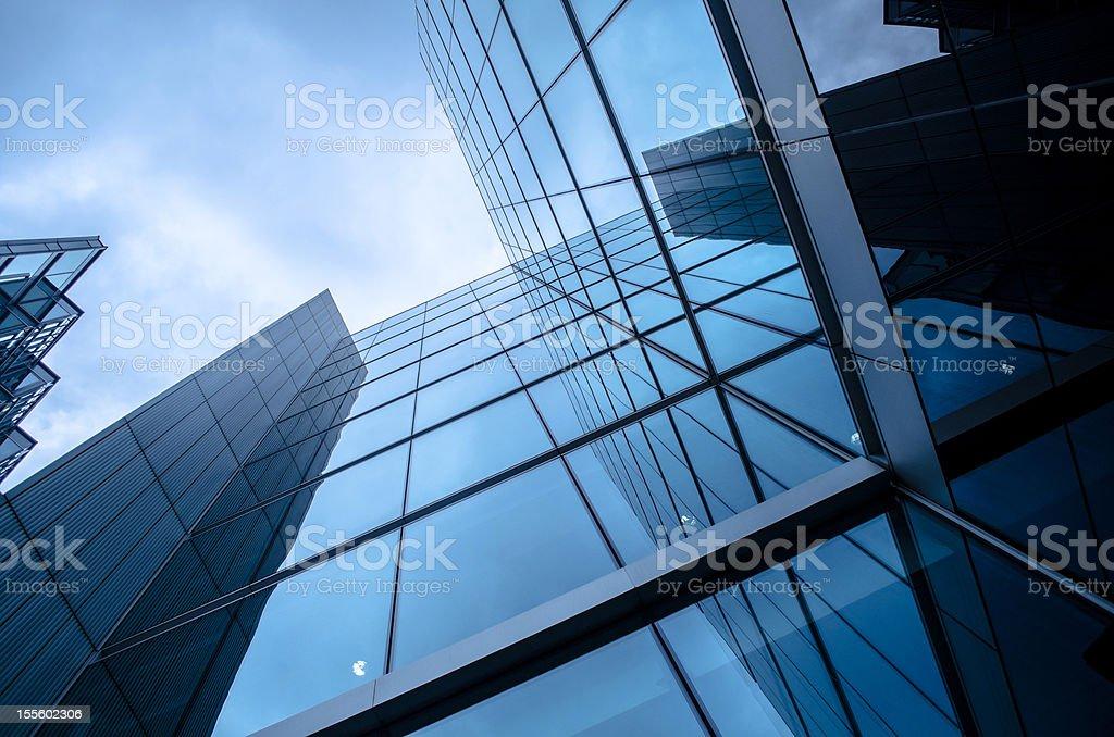 modern urban office building stock photo