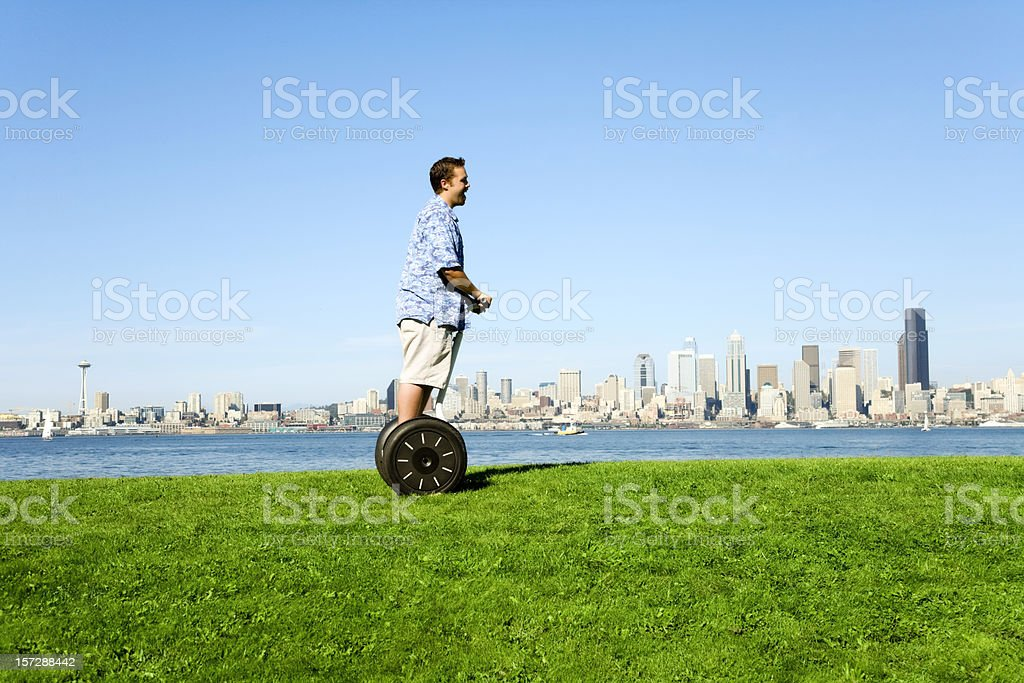 Modern Urban Transport royalty-free stock photo