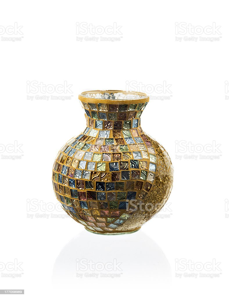 Modern vase royalty-free stock photo