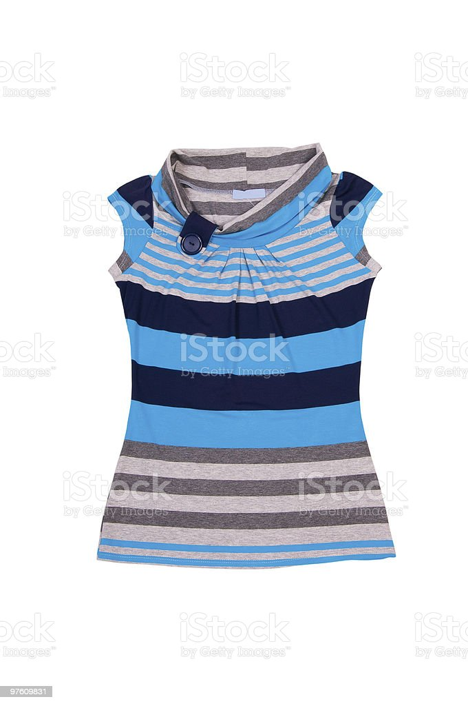 Modern vest on the white. royalty-free stock photo