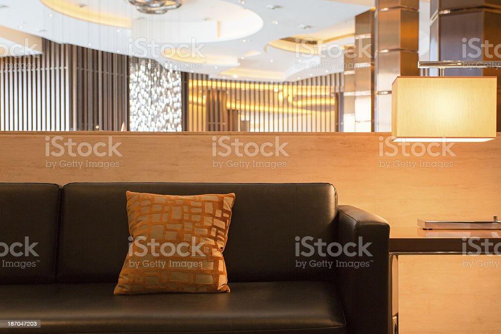 Modern Waiting Area royalty-free stock photo
