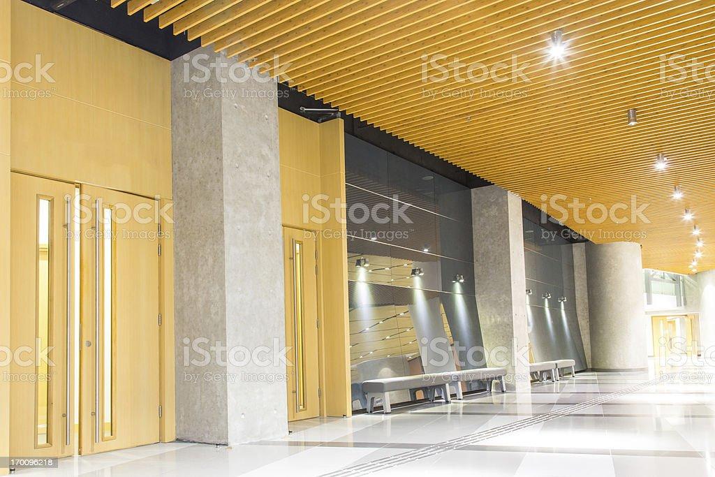 Modern Walkway stock photo