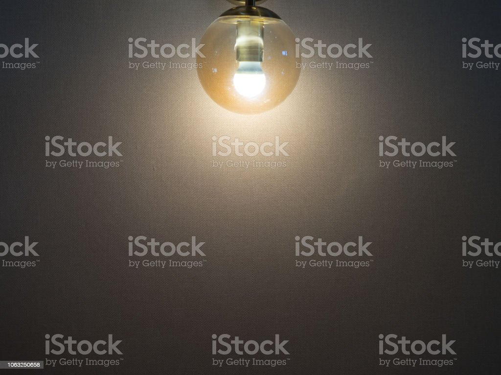 Modern Wall Lamp Round Glass Ball Mounted Light Led Interior Design Stock Photo Download Image Now Istock
