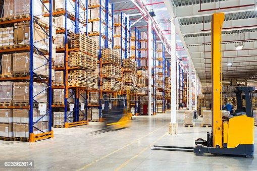 istock Modern warehouse interior 623362614
