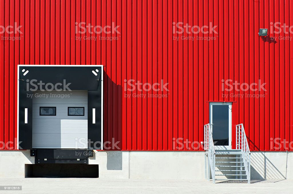 modern warehouse royalty-free stock photo