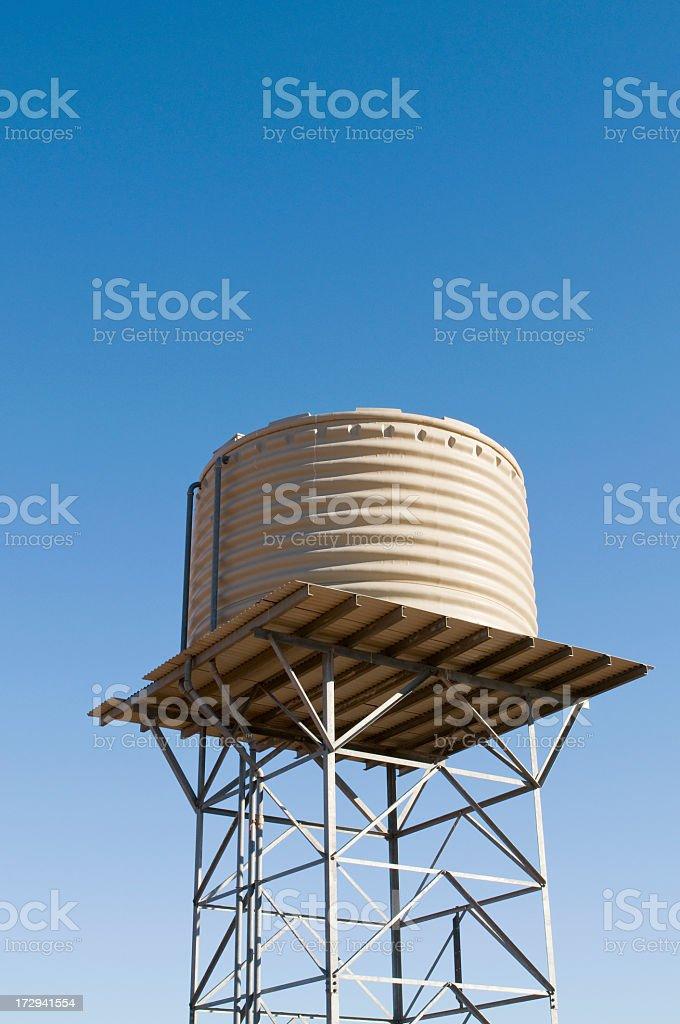 Modern Water Tank royalty-free stock photo