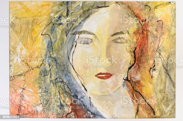 Modern watercolor portrait of a young woman picture id806664854?b=1&k=6&m=806664854&s=612x612&h=g4ylu1hxgn87bzp wm25ep0rv22 fiibiu5rt1f1agm=