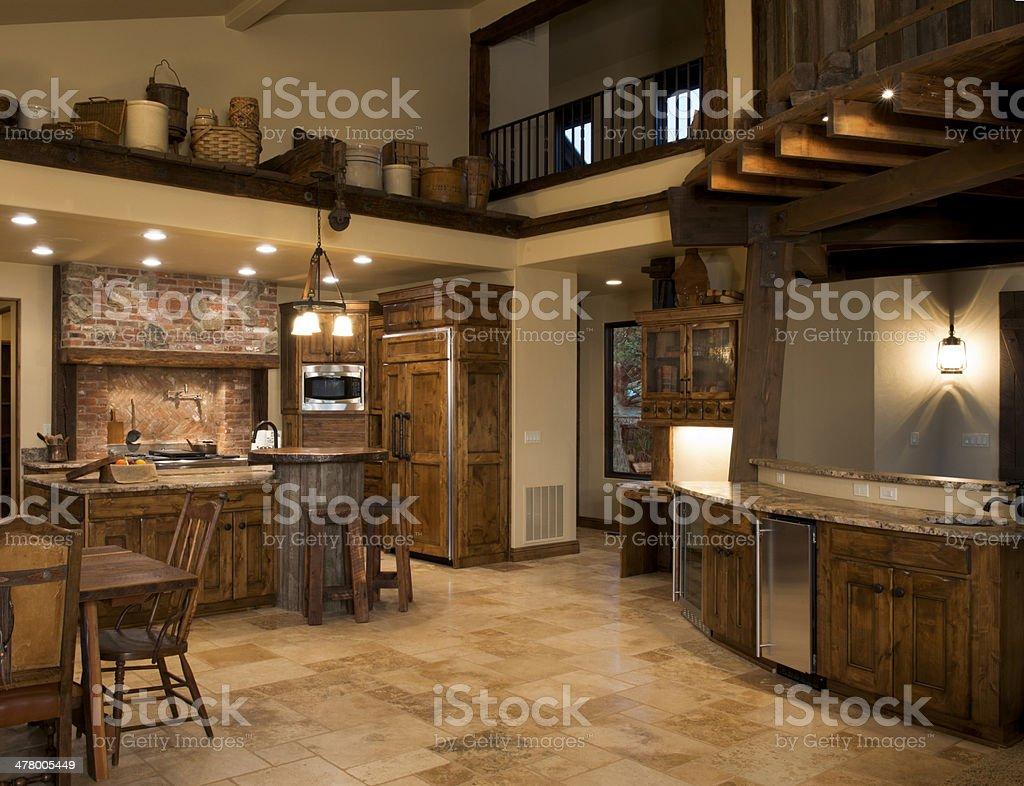 Genial Modern Western Kitchen Royalty Free Stock Photo