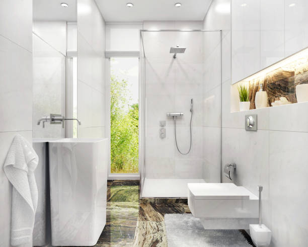 94 3d Small Bathroom Design Stock Photos Pictures Royalty Free Images Istock