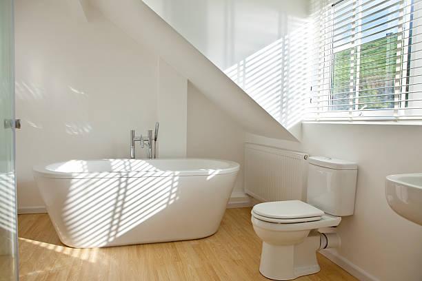 modernes badezimmer - sonnendusche stock-fotos und bilder