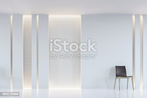 658604764 istock photo Modern white living room interior 3d rendering image 655220958