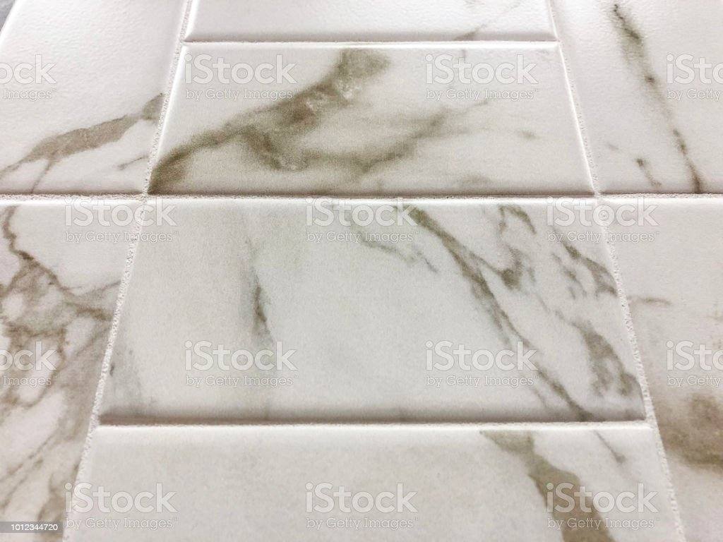 Modern White Marble Or Granite Floor Tiles Or Kitchen Countertops Backsplash Stock Photo Download Image Now Istock