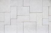 Modern white palimanan wall cladding textured