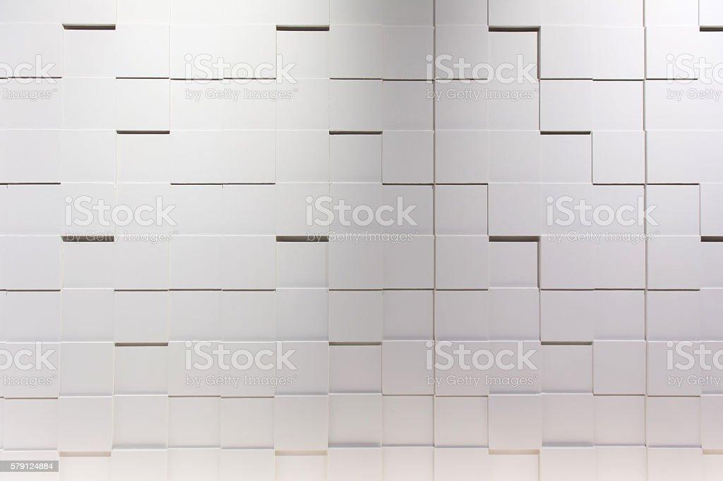 Modern white wall background stock photo