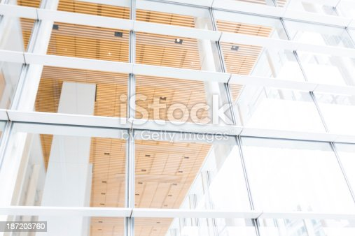 istock Modern Window and Architecture 187203760