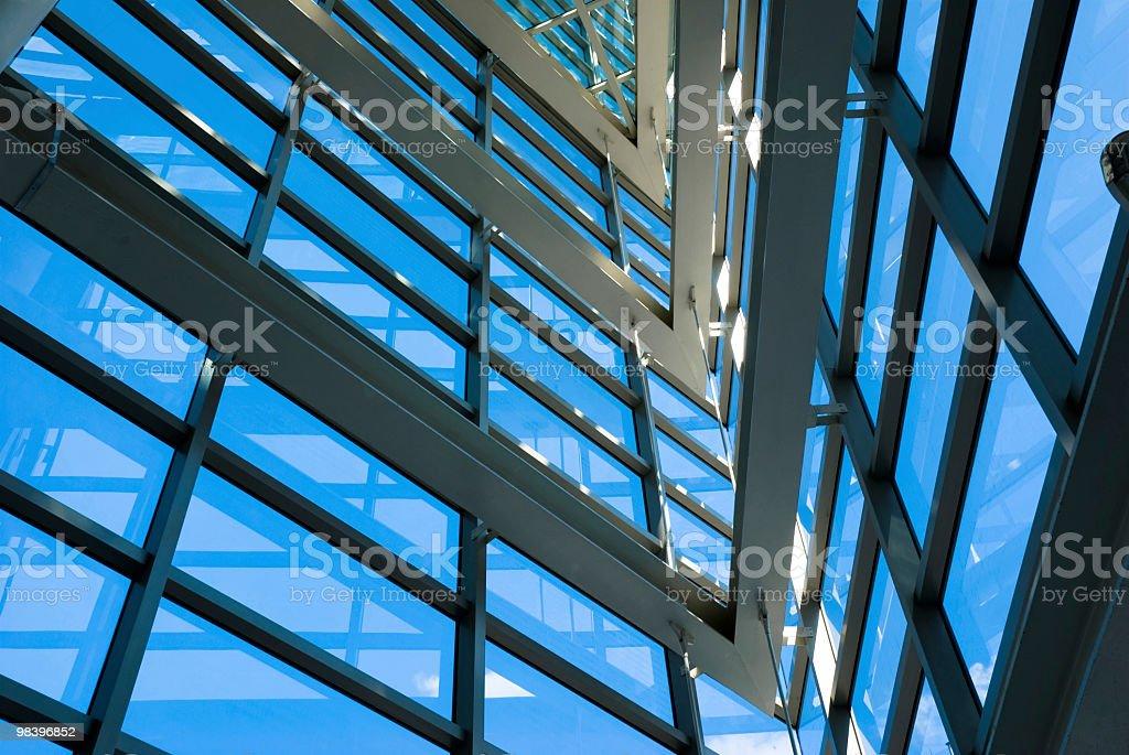 Modern window frame royalty-free stock photo