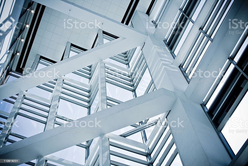 Modern Window royalty-free stock photo