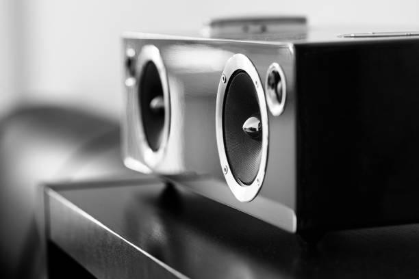Haut-parleur sans fil moderne - Photo