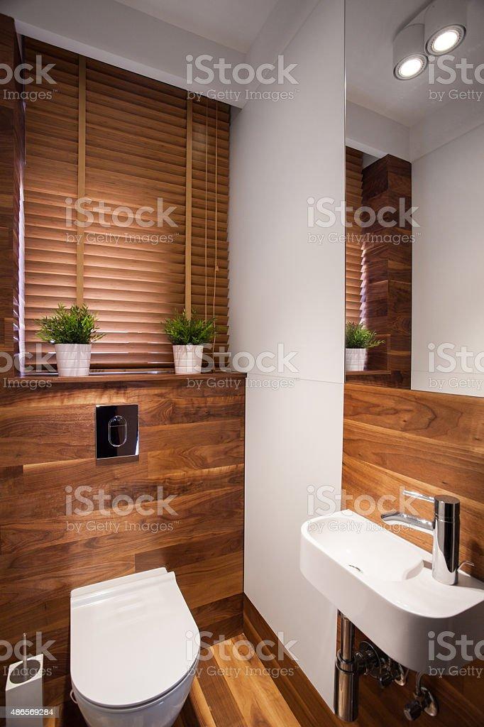 Moderne Holz Wc Stockfoto und mehr Bilder von 2015 - iStock