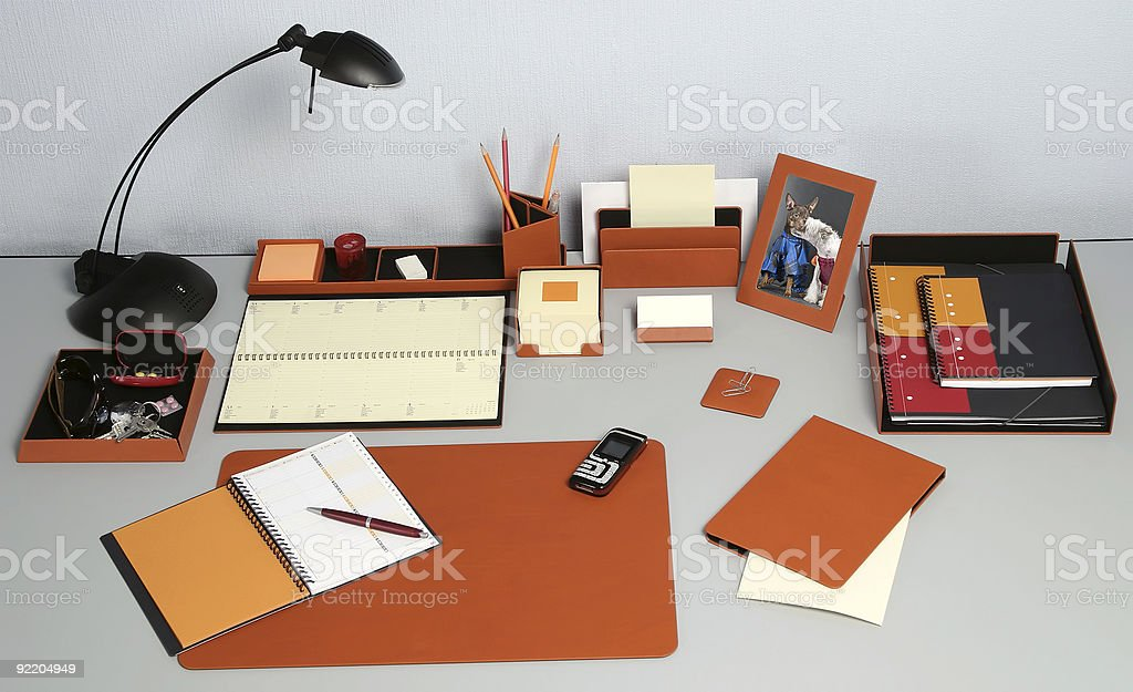 Modern work place_2 royalty-free stock photo