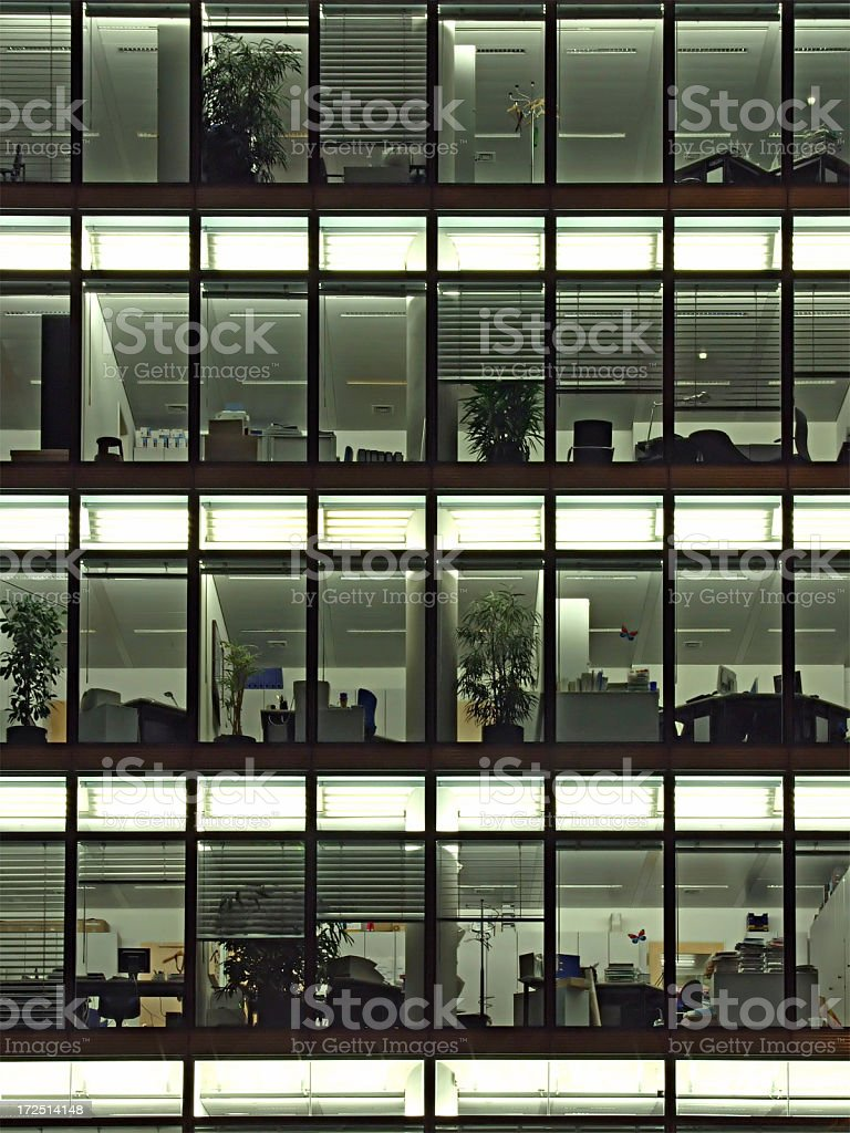 Modern Working royalty-free stock photo