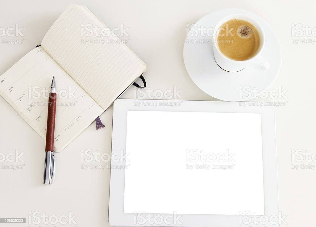 modern working place royalty-free stock photo