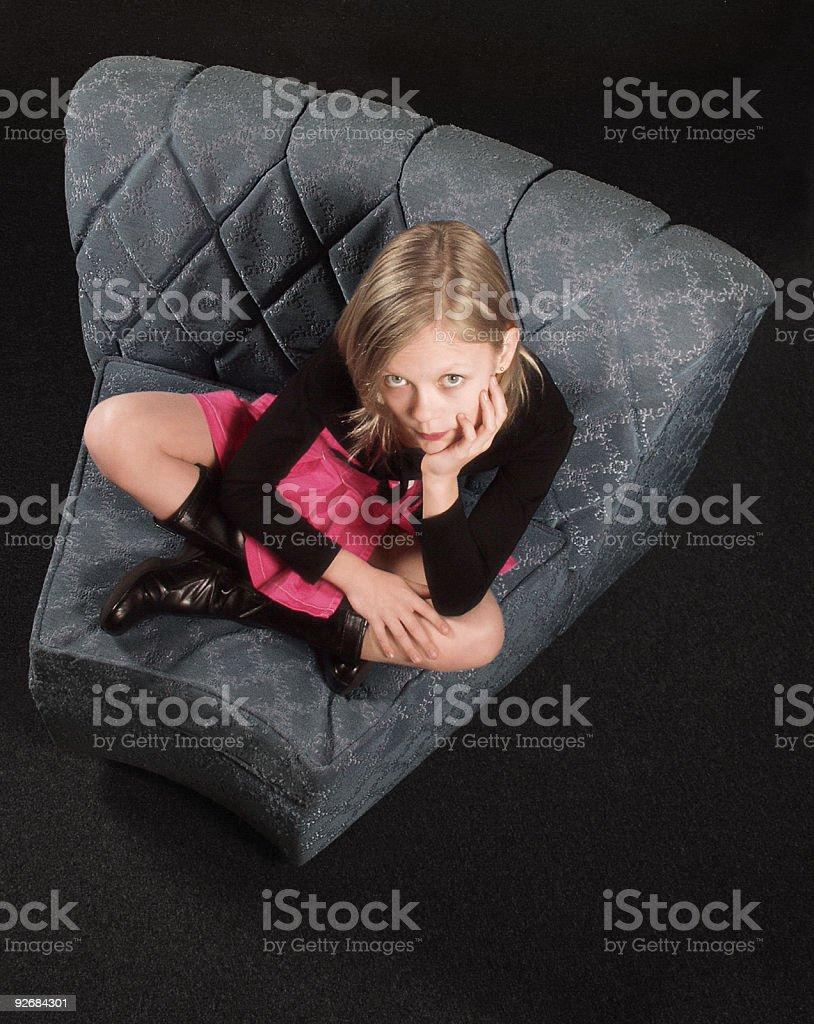 Modern-Girl royalty-free stock photo