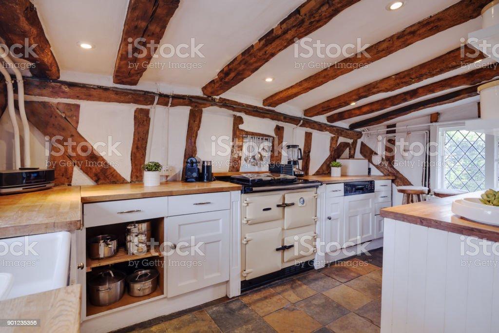 Photo Libre De Droit De Modernise Du Xvie Siecle Cuisine Cottage