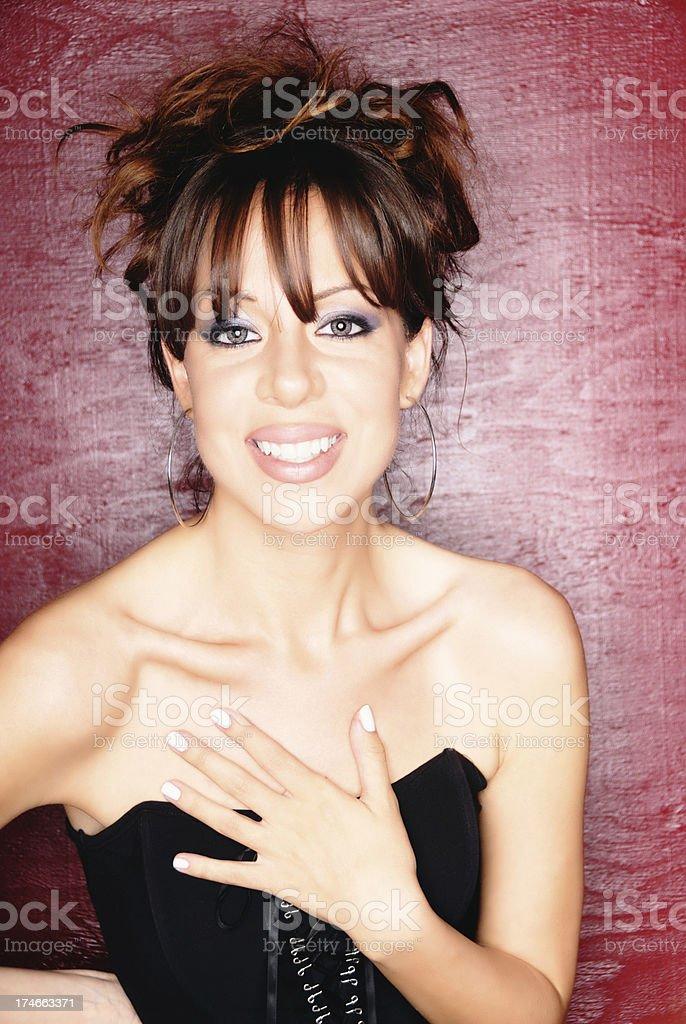 Modest Beauty royalty-free stock photo