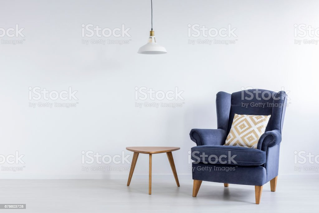 Modest decor of room - foto de stock
