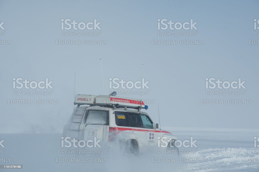 Modified 4x4 Nissan Patrol from Iceland search and rescue