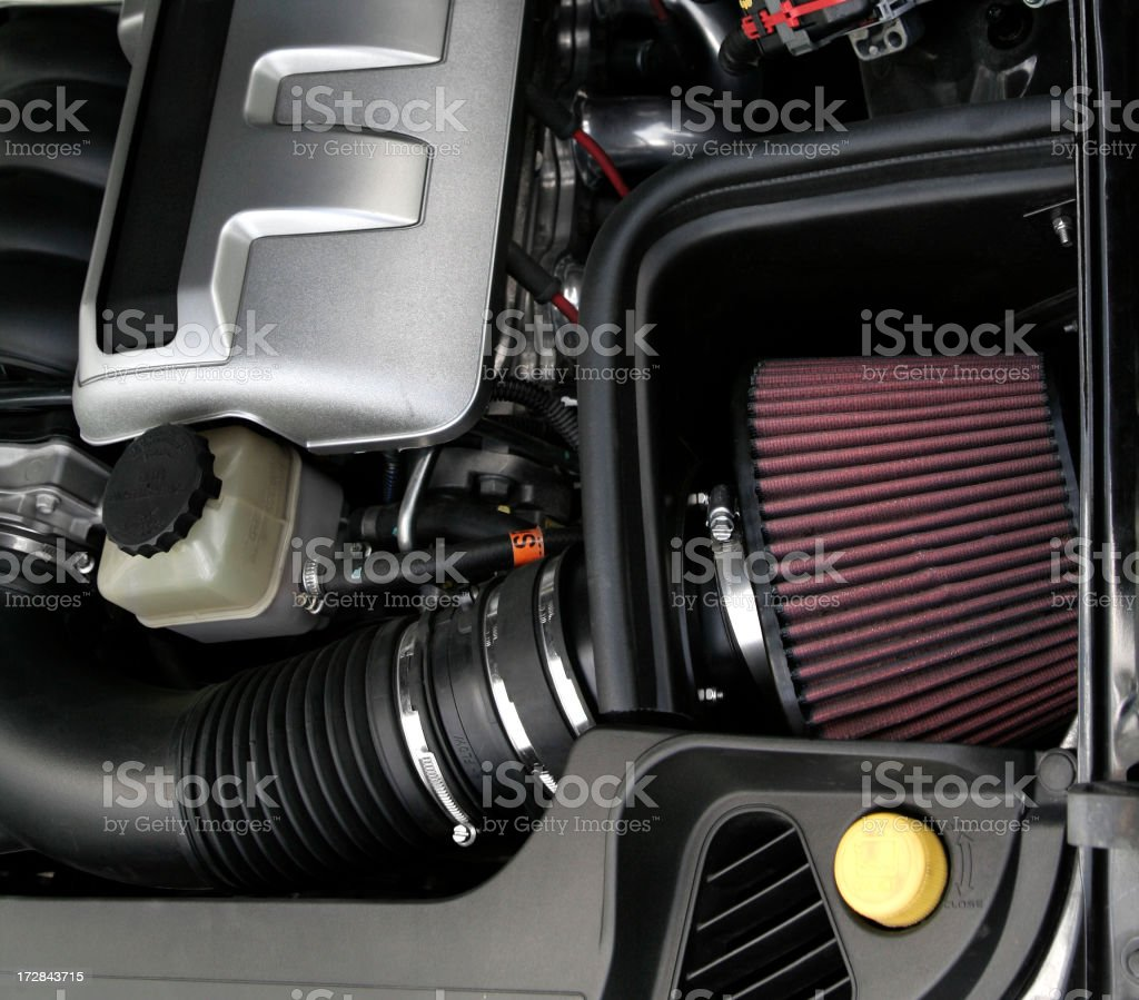 Modified Air Intake royalty-free stock photo