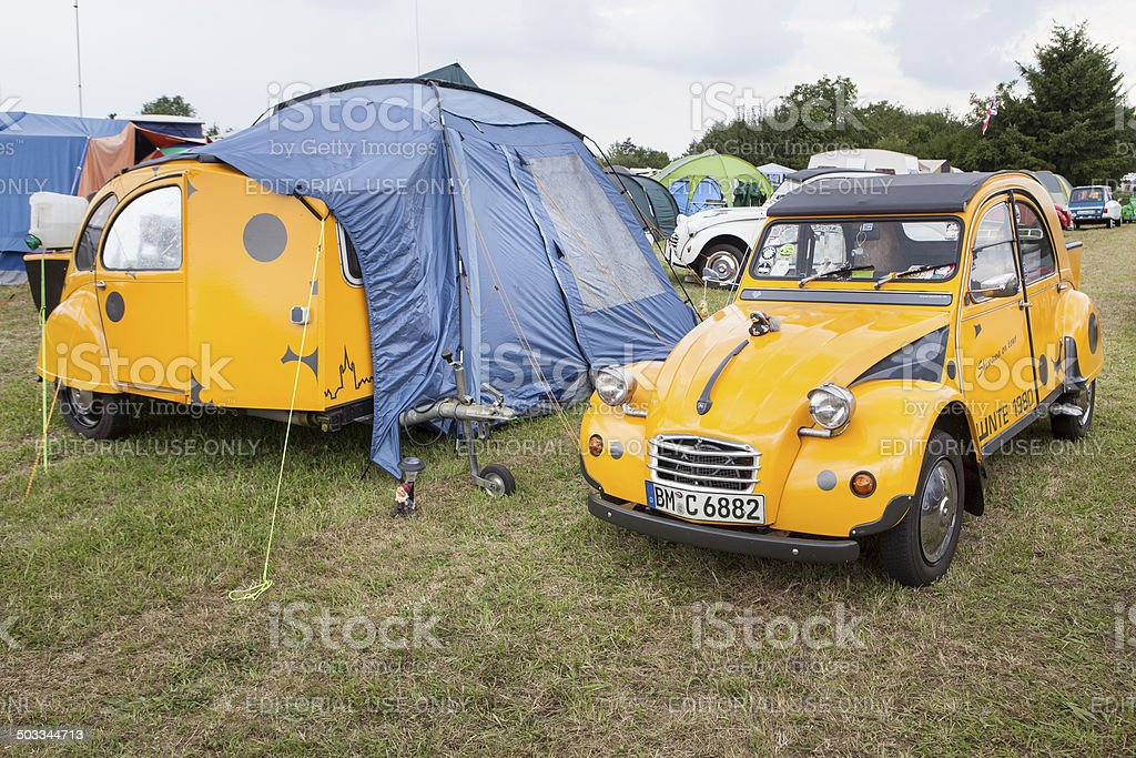 Modified Citroen 2CV royalty-free stock photo