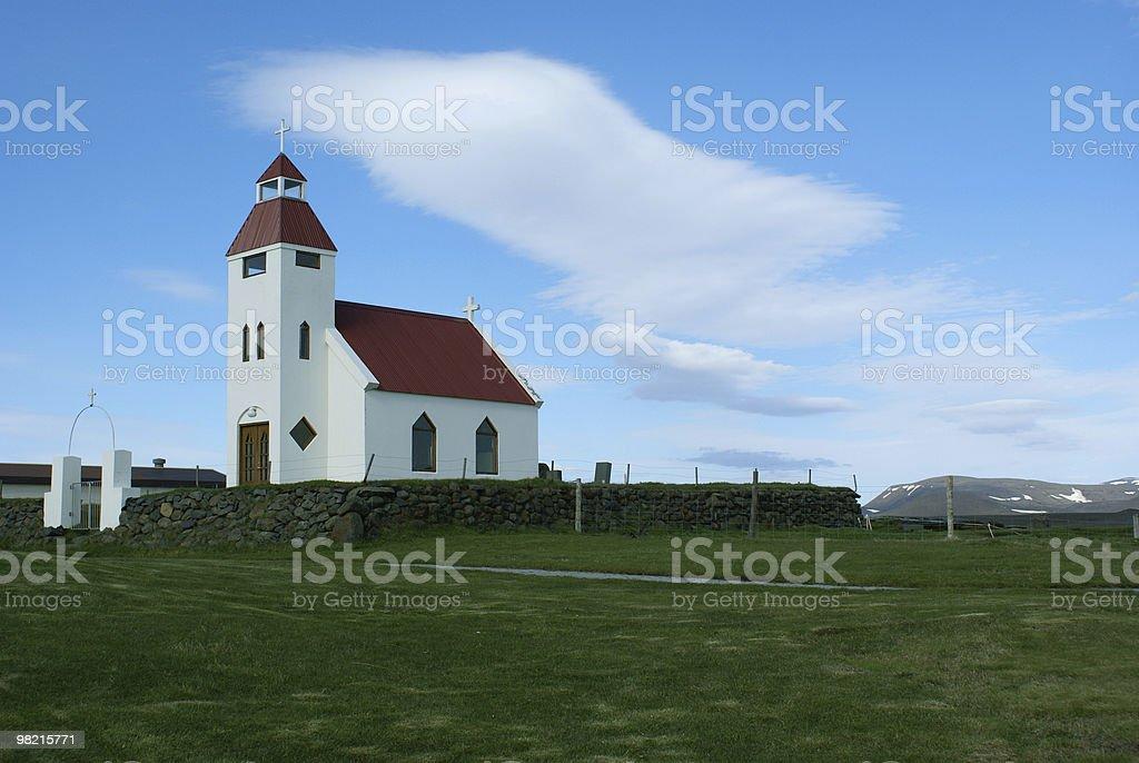Modrudalur Church royalty-free stock photo