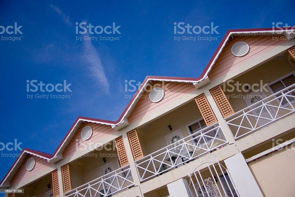 modular apartment building royalty-free stock photo