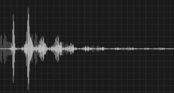 調製音訊 - 聲波 個照片及圖片檔