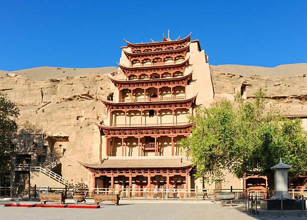 Mogao-Grotten von China – Foto