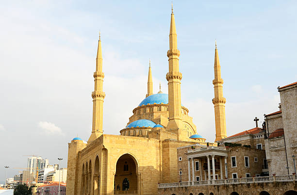 Mohamed Al-Amin-Moschee, Beirut, Libanon – Foto