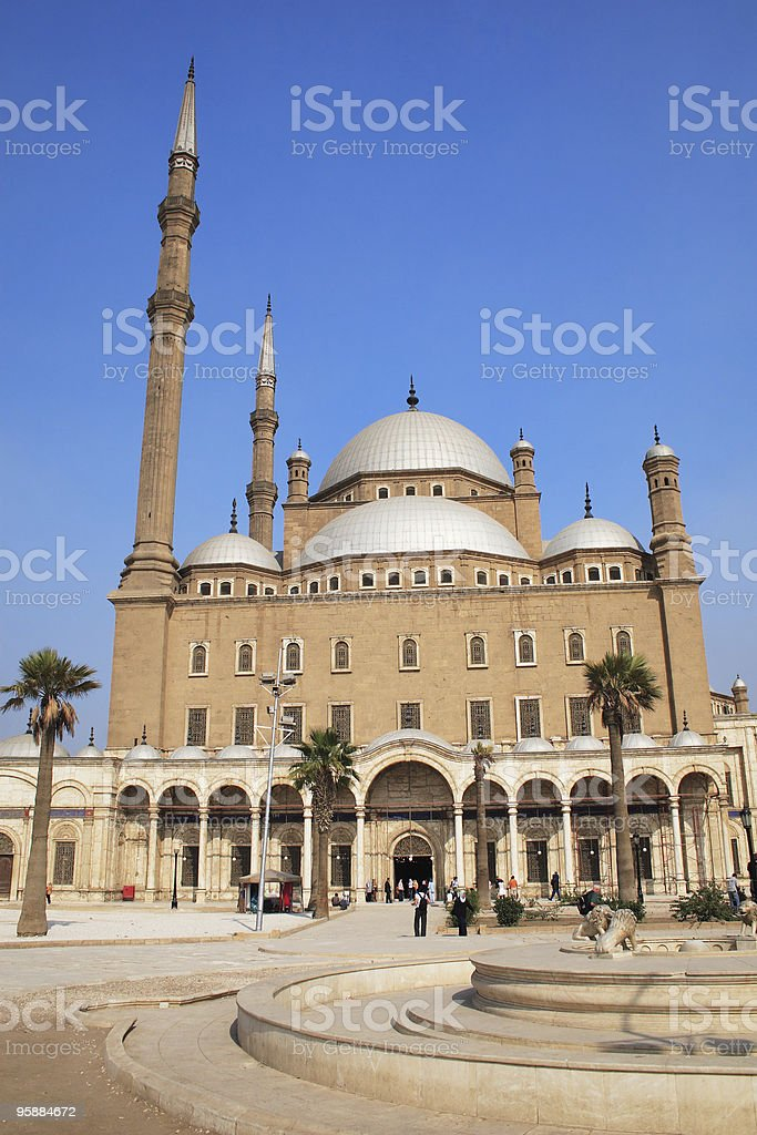 Mohamed Ali Mosque royalty-free stock photo
