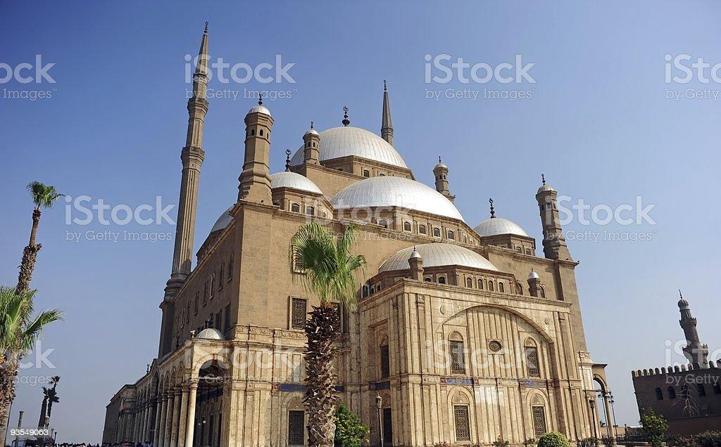 Mohammad Ali mosque stock photo