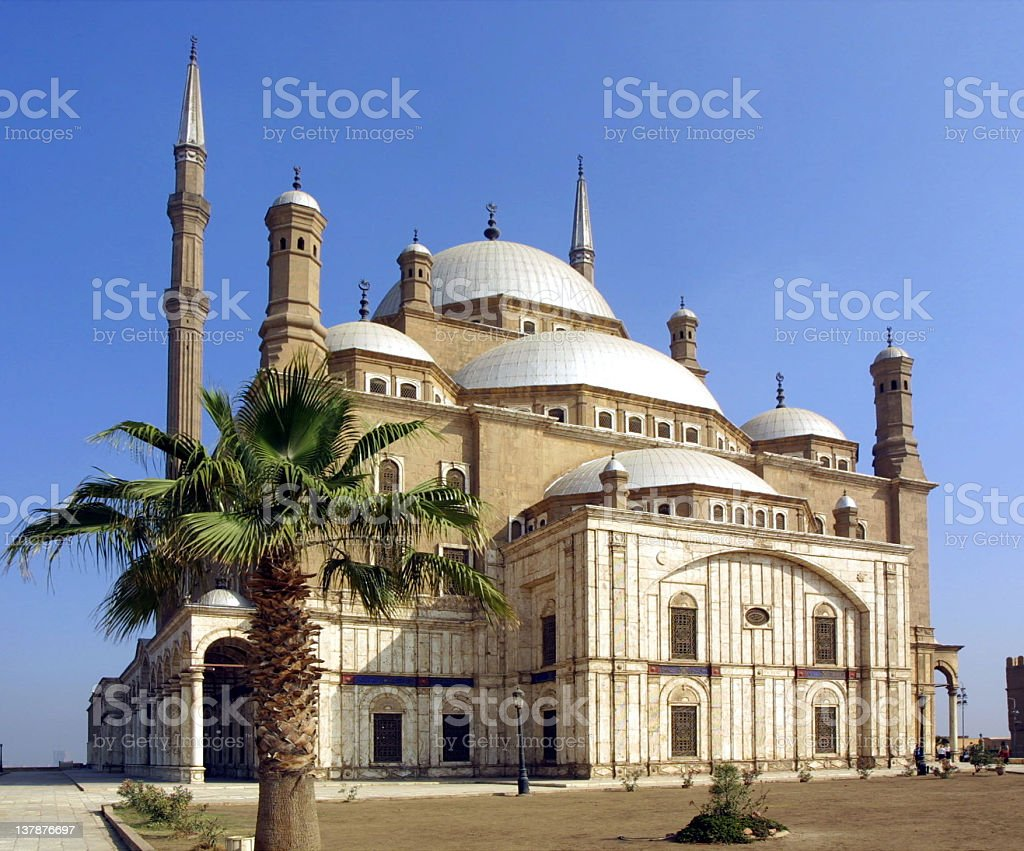 Mohammed Ali Mosque royalty-free stock photo
