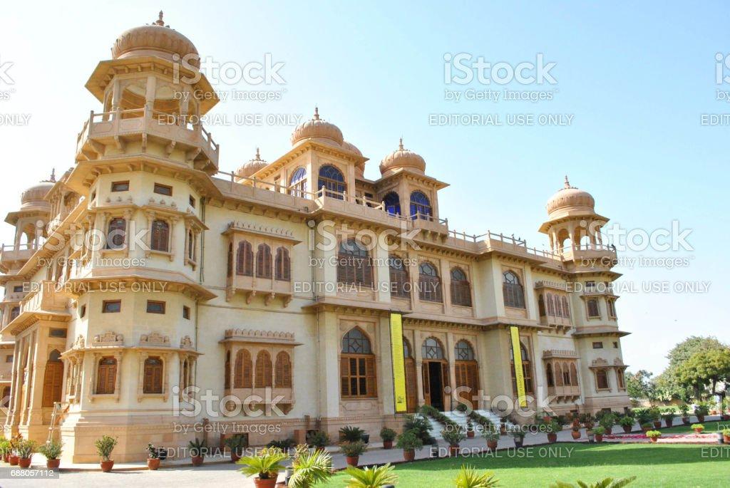 Mohatta Palace - Beautiful Landmark in Clifton stock photo