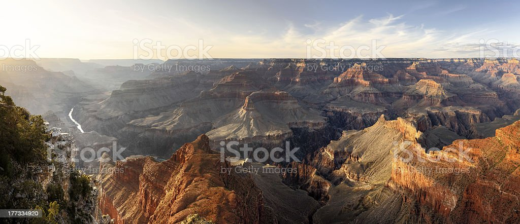 Mohave Point, Grand Canyon National Park stock photo