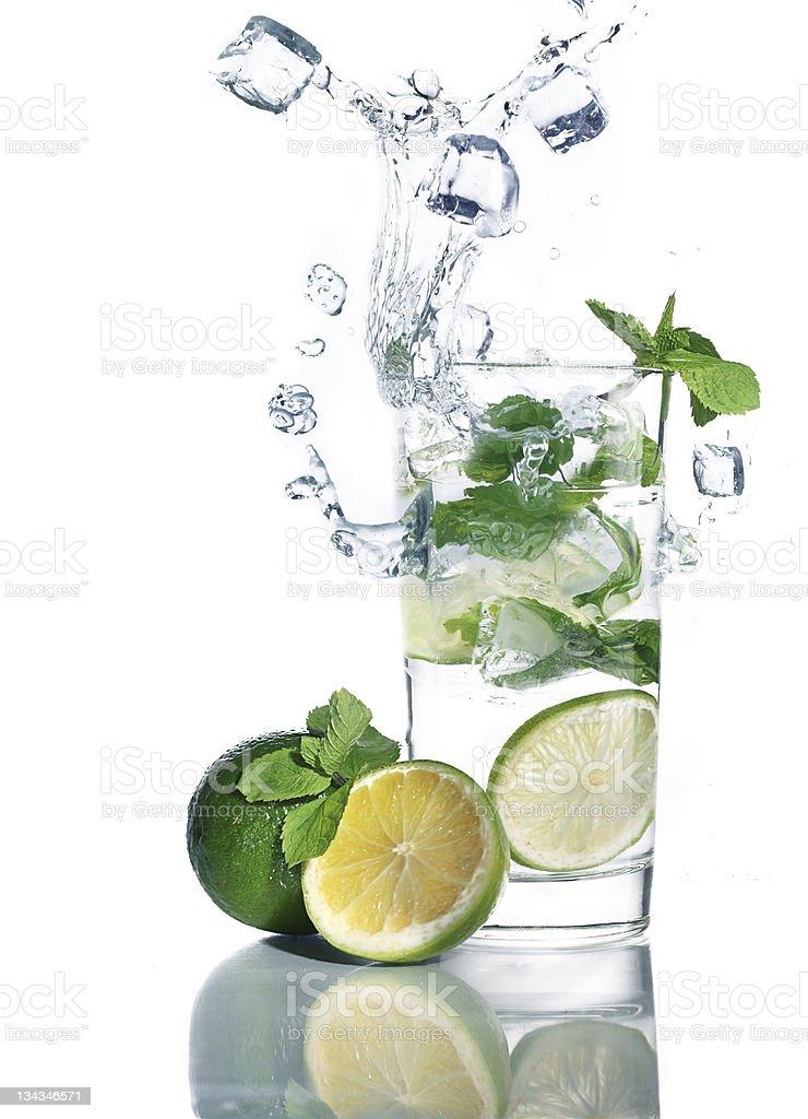 mohito cocktail stock photo